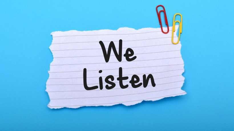 We Listen – Improving the Patient Experience Based on Your Feedback 1